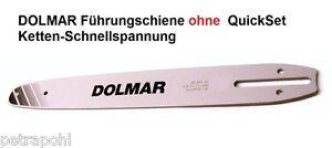 """Schwert passend für Dolmar PS4 35 cm 3//8"""" 1,1 mm 52 TG Führungsschiene"""