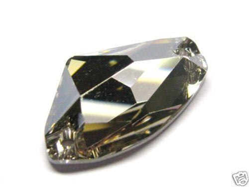 1xSwarovski ® 3256 27x16mm Crystal Silver ShadGalactic