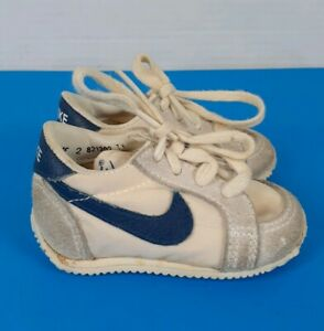 Vintage Nike Shoes Baby Size 2 1980's