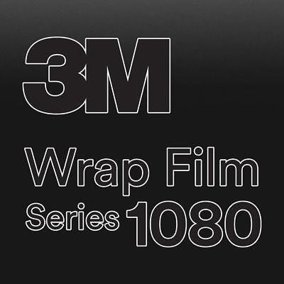 3M 1080 M22 Matte DEEP Black 5ft x 1ft W//Application Card Vinyl Vehicle Car Wrap Film Sheet Roll
