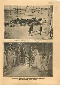 Italo-Turkish-War-Tripoli-Camels-caravan-Charles-I-of-Austria-1911-ILLUSTRATION
