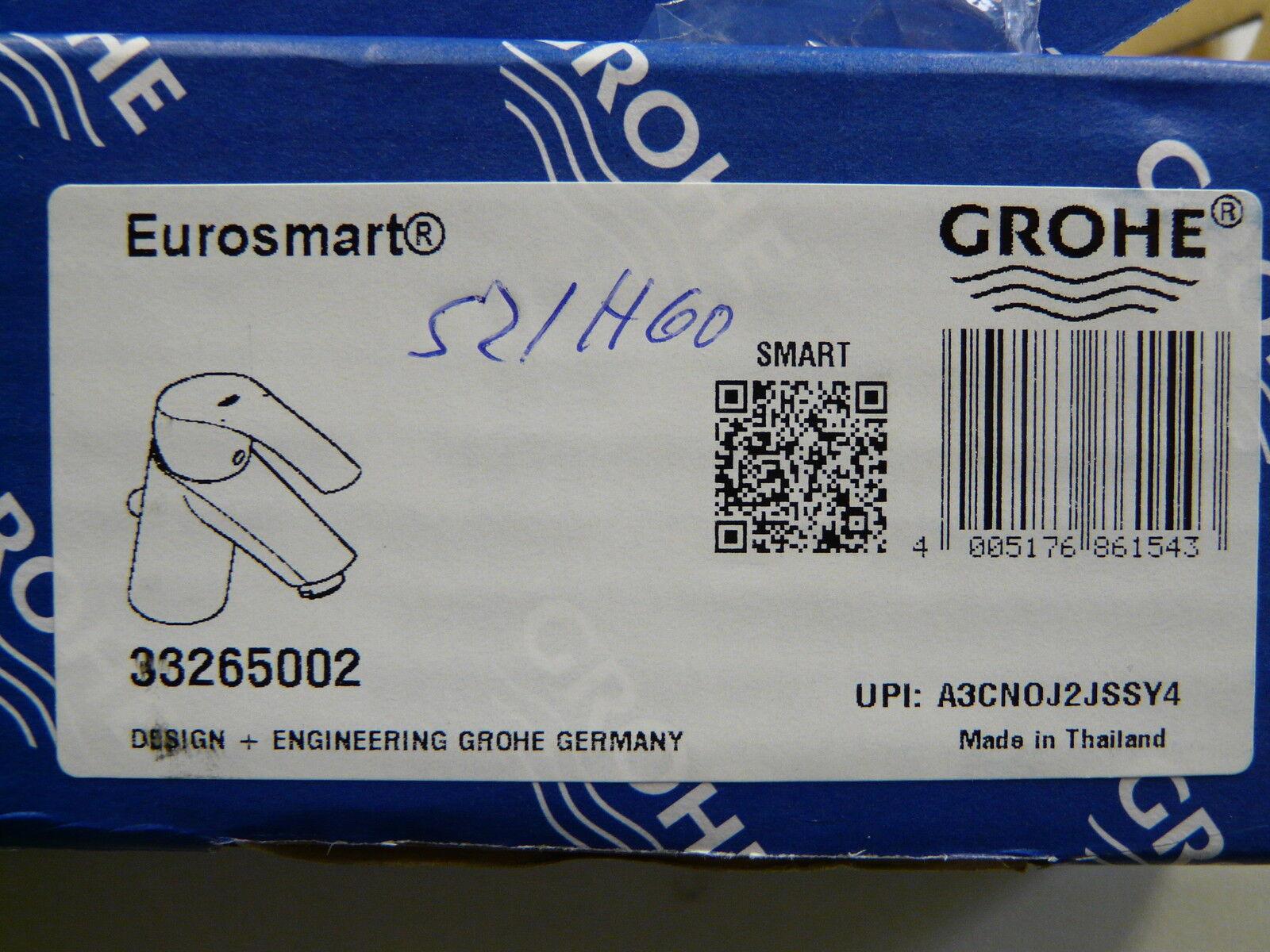 Grohe Eurosmart Waschtischarmatur Weiss/Edelmessing, Einhebelmischer,Wasserhahn Einhebelmischer,Wasserhahn Einhebelmischer,Wasserhahn a9ed41