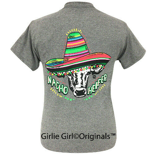 "Details about  /Girlie Girl Originals /""Nacho Heifer/"" Short Sleeve T-Shirt-2030"