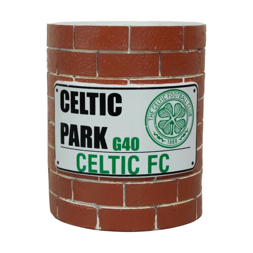 Celtic FC Brick Wall Money Bank 50/% Off Retail Price RRP is £15