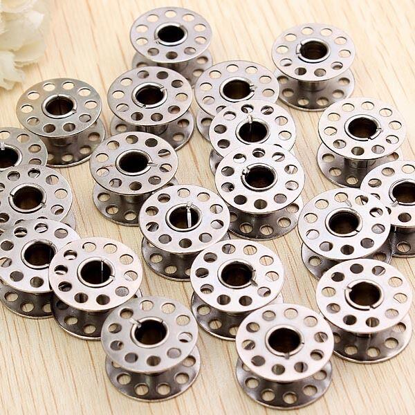 20x Nähspulen Unterfadenspulen Nähmaschinenspulen spulen Leerspulen Metall