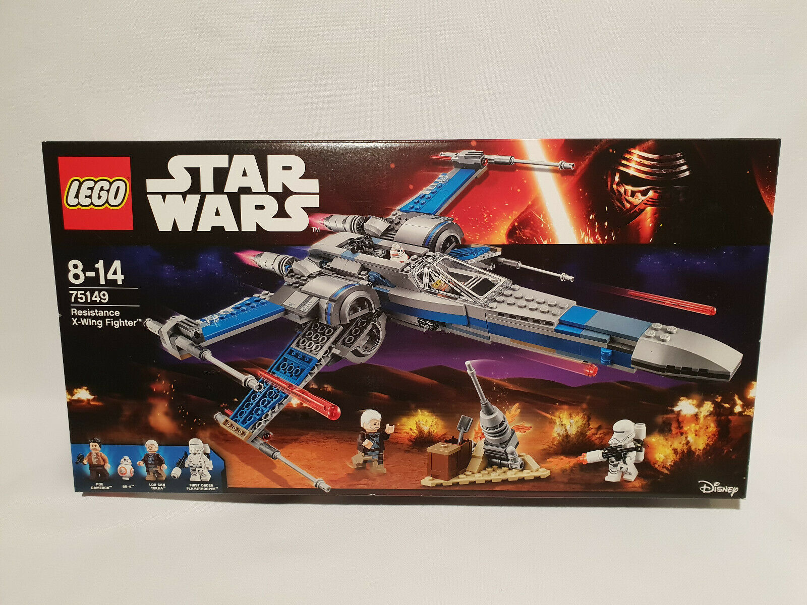 LEGO 75149 STARWARS Resistance X-Wing Fighter NEUF SCELLE