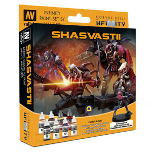 Shasvastii-Vallejo-Paint-Set-Infinity-Wargame-Corvus-Belli-Brand-New-VAL70241