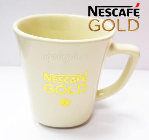 NESCAFE COFFEE CREAM GOLD Mug Cup Nestle MALAYSIA 3.5 inch Rare Limited Edition