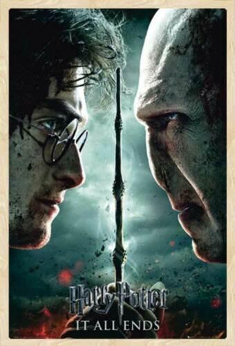 Poster Druck Harry Potter Größe 61x91,5 cm Part 2 Teaser Film 7