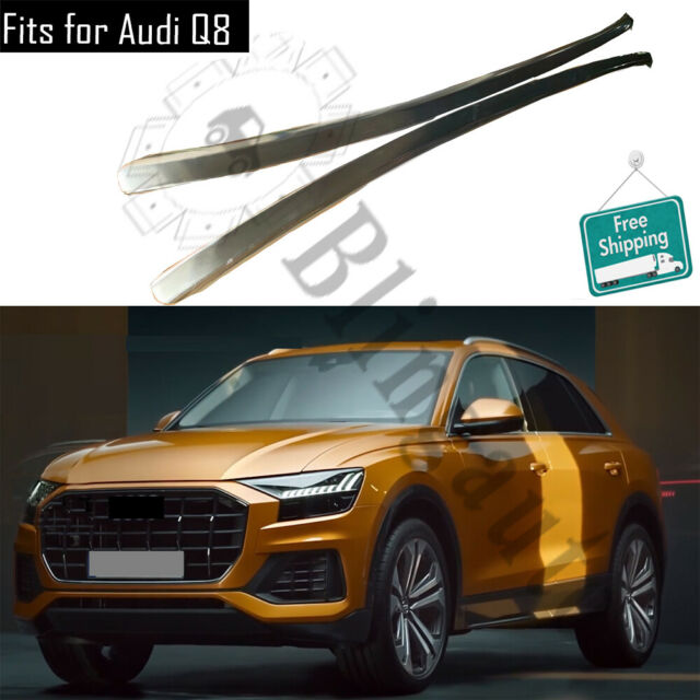 Roof Rack Fits For Audi Q8 Aluminum Alloy Silver Roof