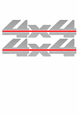 1988-1997 4x4 Decals for Chevy Silverado GMC Sierra 1500 2500 BLACKOUT