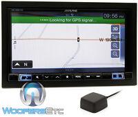 Alpine Ine-w967hd Single Din 7 Tv Touchscreen Gps Bluetooth Navigation Hd Radio