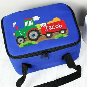 Personalised-Name-Boys-Children-039-s-School-Lunchbox-Back-to-school-Lunch-bag