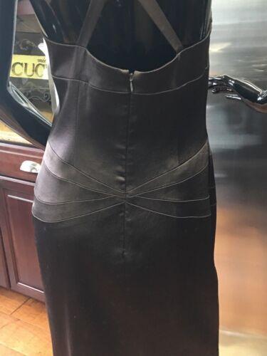 taglia cocktail Abito marrone scuro da Lavanderia 4 AxtZ6q