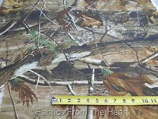 Realtree AP HD Camo Camouflage Nature Trees BY YARDS  Polyester Nylon Fabric