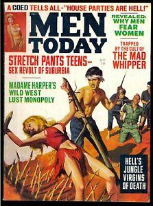 Men-Today-Pulp-Magazine-Vol-7-5-Sept-1967-Bondage-Fine-6-5