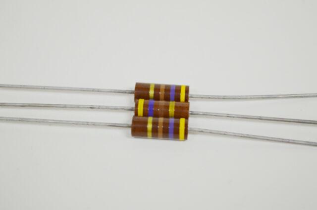 Kohleschicht Widerstand Resistor 6,8 kOhm 1W 5/% 10 Stück 0046