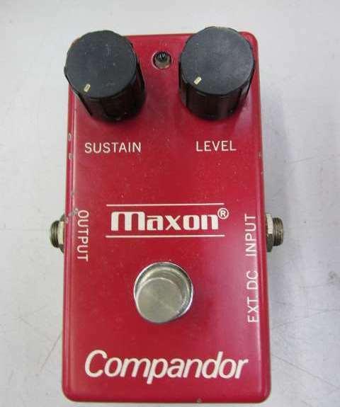Used  MAXON Compandor Compressor Guitar Effects Pedal