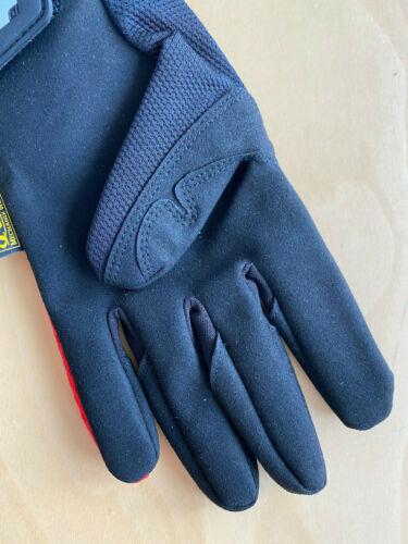 Mechanix Wear Original Gloves rot Arbeits Handschuhe Motorsport Work Biker Neu