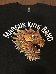 The-Marcus-King-Band-Tour-T-Shirt-New-Old-Stock-Unworn-Large-2017-Size-Large