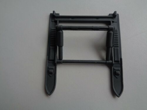 Gi Joe part COBRA WOLF 1987 MISSILE TRACK WITH WHEEL GUN MOUNT CANNON DOUBLE SKI