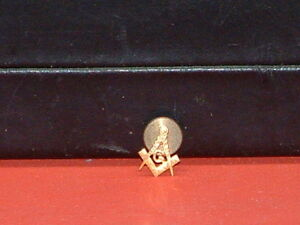 Pre-Owned-Vintage-10Kt-Gold-Masonic-Pin