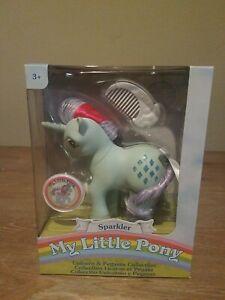 My Little Pony Unicorn & Pegasus Collection SPARKLER Retro 80's Re-release!