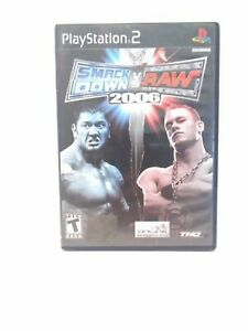 WWE-SmackDown-vs-Raw-2006-Sony-PlayStation-2-2005-CIB-Tested
