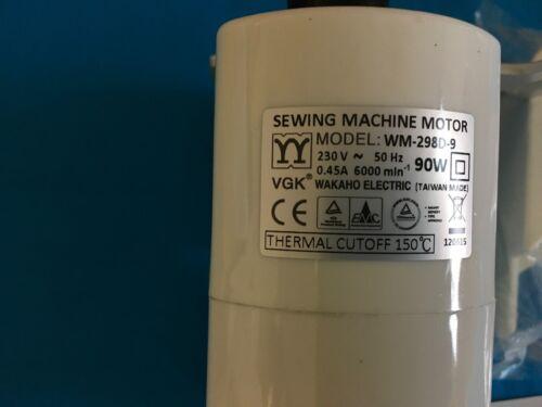 Nähmaschinenmotor VGK-WM 298D Anbaumotor Motor mit Halterung