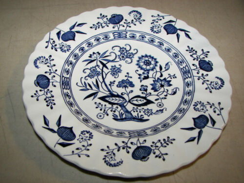 Vintage Blue Nordic Classic J & G Meakin England 6 7/8