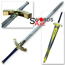 Knight Fate Anime Excalibur Sword Unlimited FULL TANG Replica Codes Stay Cosplay