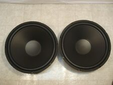 """NEW 15"""" Subwoofers Replacement Speakers.8 ohm.Woofers.PAIR (2).DJ.PA.Home Audio"""