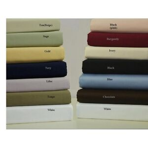 Superior-4-pcs-Attached-Water-Bed-Sheet-Set-1000-TC-100-Egyptian-Cotton
