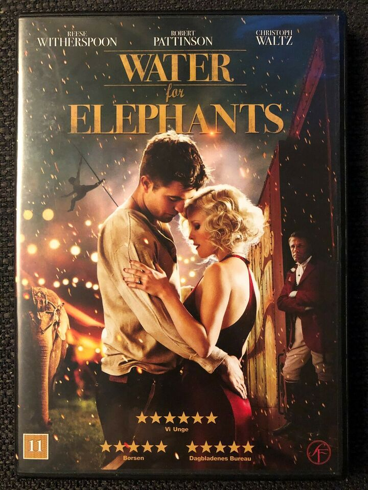 Water for Elephants, DVD, drama