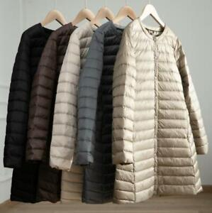 Winter-Woman-Duck-Down-Puffer-Jacket-Slim-Liner-Coat-Ultra-Light-Quilted-parka