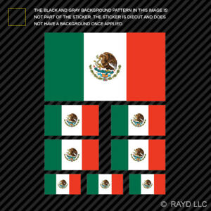 Mexico Oval Sticker Decal Vinyl Mexican Country Code euro MX v7