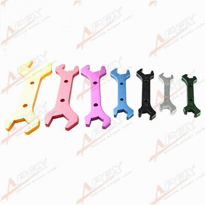 sourcing map Repair Tools Auto Anti-Slip Double Ended Flare Nut Wrench 6mm x 8mm