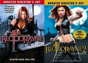Bloodrayne Bloodrayne 2 Deliverance New Dvd Both Films Unrated