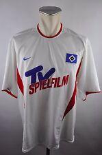 2002-03 Hamburg HSV Trikot Gr. XL vintage Nike Jersey Shirt weiß maillot