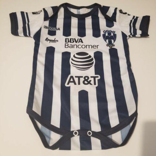 Rayados de Monterrey Baby Soccer Bodysuit