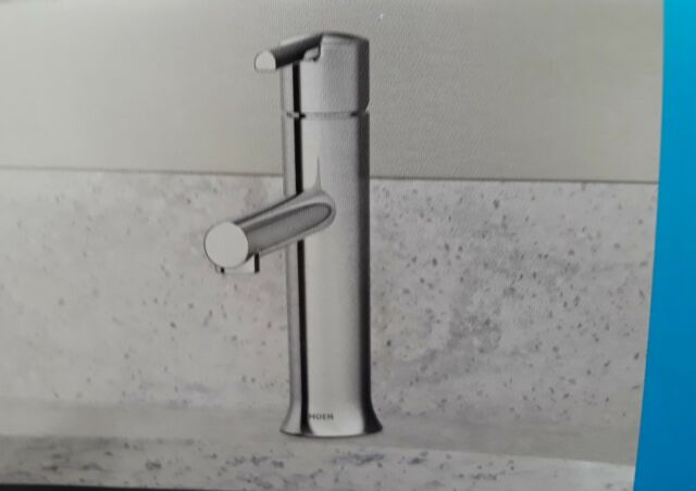 Moen Arlys Chrome One Handle Bathroom Faucet 84770 Ebay