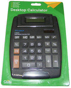 LARGE-DESKTOP-BATTERY-POWERED-CALCULATOR-8-DIGIT-BIG-BUTTONS-OFFICE-DESK