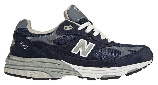 new concept 136bb 9597a NEW Balance Womens Classics 993 Running Shoes Blue 12 B