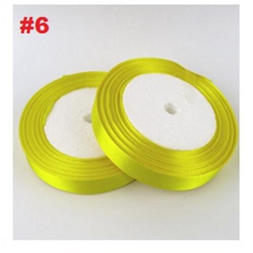 25mm 25Yard Silk Ribbon Satin Ribbon Gifts Bow Tie Handcrafts DIY Home Decor
