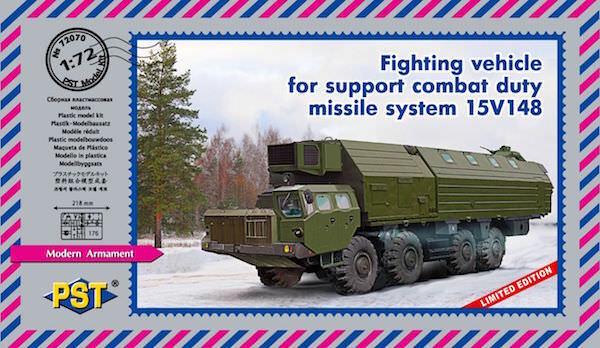 Pst 1/72 Combattimento Veicolo che Sostiene Duty Missile Sistema 15v148  72070