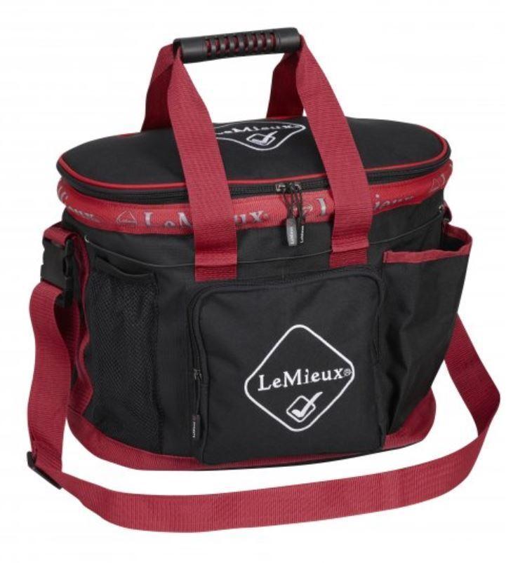 Lemieux LUSSO PROKIT Impermeabile sistema Grooms Handybag Tasche in Nylon Impermeabile PROKIT Nero/Blu Marino ca8946