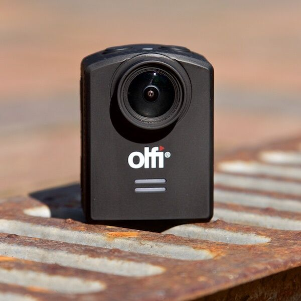 OLFI One.Five 1080p 4K HD HD Waterproof Action Cam. Compatible with GoPro Mounts