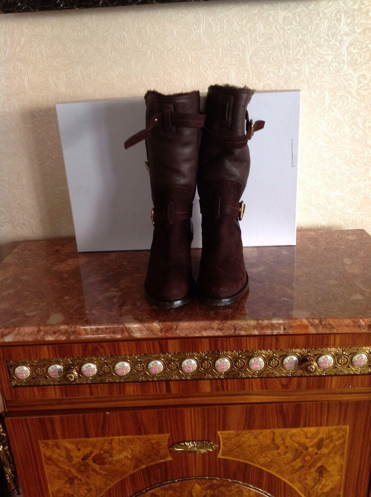 Gentlemen/Ladies Dior Biker Boots Sz 37.5 flagship store Low price various kinds
