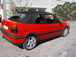 vw golf 3 cabrio capote cabriolet pvc noir neuve ebay. Black Bedroom Furniture Sets. Home Design Ideas