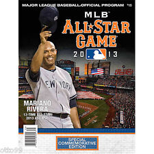 MARIANO RIVERA NY YANKEES METS CITIFIELD ALL STAR GAME MVP OFFICIAL MLB PROGRAM